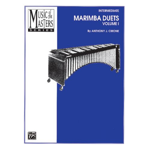 ALFRED PUBLISHING MARIMBA DUETS VOL 1 MUSICMAST - MARIMBA