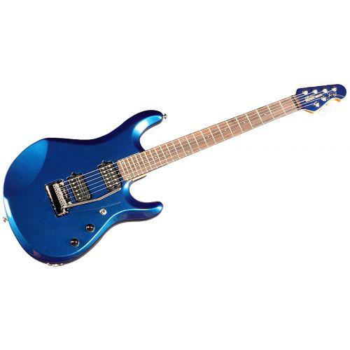 MUSIC MAN JOHN PETRUCCI BLUE PEARL + MATCHING HEADSTOCK