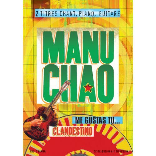 Hit Diffusion Manu Chao Clandestino Et Me Gustas Tu Pvg