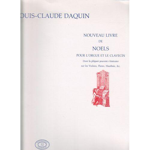 BROUDE EUROPA DAQUIN L.C. - NOUVEAU LIVRE DE NOELS - ORGUE (CLAVECIN)