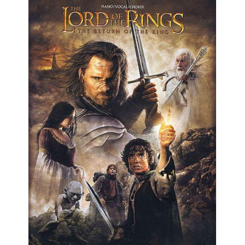 ALFRED PUBLISHING SHORE HOWARD - LORD OF THE RINGS - RETURN KING - PVG