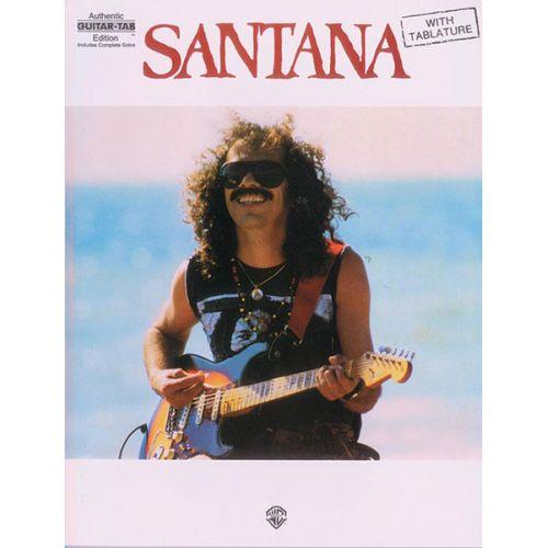 ALFRED PUBLISHING SANTANA CARLOS - SANTANA - GUITAR TAB