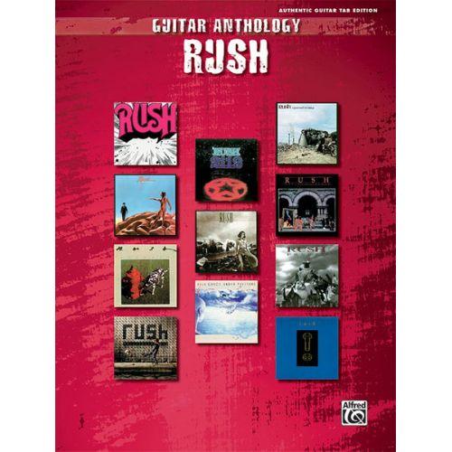 ALFRED PUBLISHING RUSH - RUSH GUITAR ANTHOLOGY - GUITAR TAB