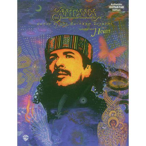 ALFRED PUBLISHING SANTANA CARLOS - DANCE OF THE RAINBOW SERPENT : HEART - GUITAR TAB