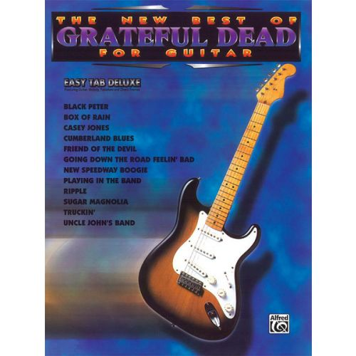 ALFRED PUBLISHING GRATEFUL DEAD - NEW BEST OF - GUITAR TAB