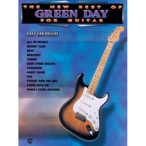 ALFRED PUBLISHING GREEN DAY - NEW BEST OF - GUITAR TAB