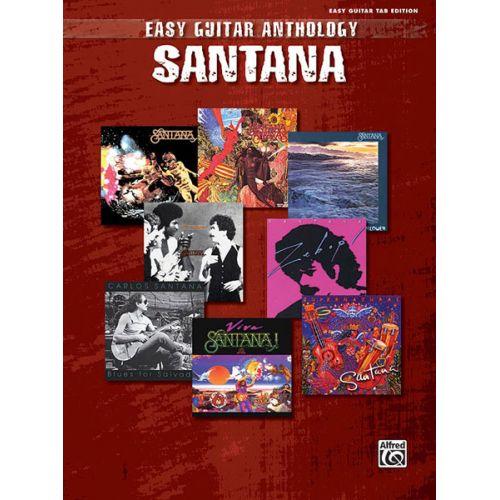 ALFRED PUBLISHING SANTANA CARLOS - 20 GREATEST HITS - GUITAR TAB