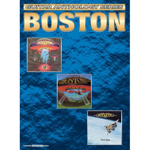 ALFRED PUBLISHING BOSTON ANTHOLOGY - GUITAR TAB