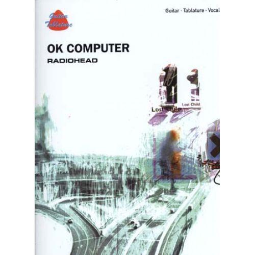 ALFRED PUBLISHING RADIOHEAD - OK COMPUTER - GUITAR TAB