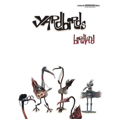 ALFRED PUBLISHING YARDBIRDS THE - BIRDLAND - GUITAR TAB