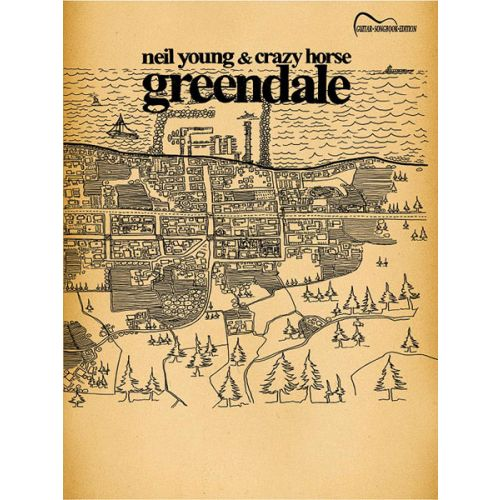 ALFRED PUBLISHING YOUNG NEIL - GREENDALE - GUITAR TAB
