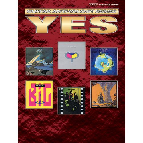 ALFRED PUBLISHING YES - GUITAR ANTHOLOGY - GUITAR TAB