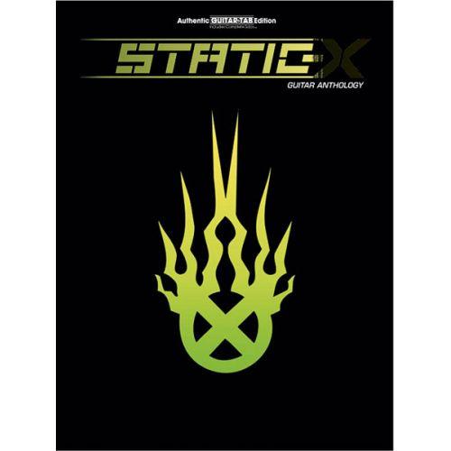ALFRED PUBLISHING STATIC X - GUITAR ANTHOLOGY - GUITAR TAB