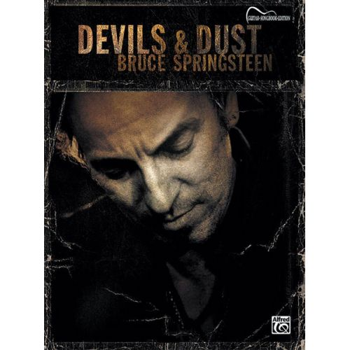 ALFRED PUBLISHING SPRINGSTEEN BRUCE - DEVILS AND DUST - GUITAR TAB