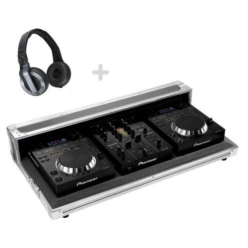 PIONEER DJ 2 x CDJ350 + 1 x DJM350 + 1 x FLIGHT CASE + 1 x HDJ500