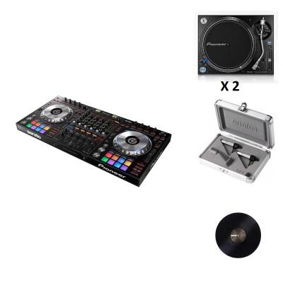PIONEER DJ DDJ-SZ + 2 X PLX-1000 + CONCORDE TWIN S-120 + SERATO BLACK 12