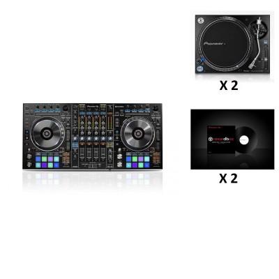 PIONEER DJ PACK DDJ-RZ + 2X PLX-1000 + 2X RB-VS1-K