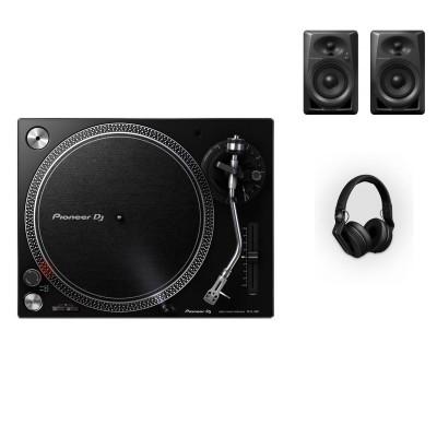 PIONEER DJ PACK DM-40 + PLX-500 + HDJ-700