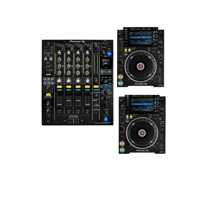 PIONEER DJ DJM-900NXS2 + 2x CDJ-2000NXS2