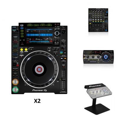 PIONEER DJ DJM-900NXS2 + 2x CDJ-2000NXS2 + RMX-1000 + PRODJ-RMX-STAND