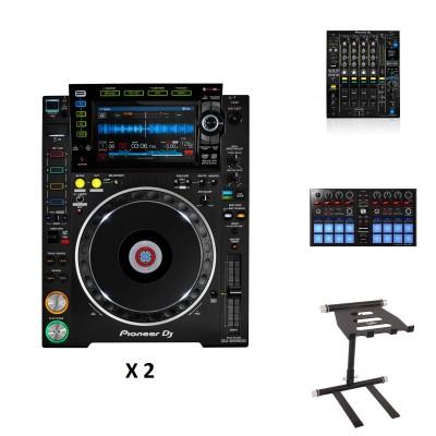 PIONEER DJ DJM-900NXS2 + 2X CDJ-2000NXS2 + EAGLETONE DJS30 + STAND DDJ-SP1