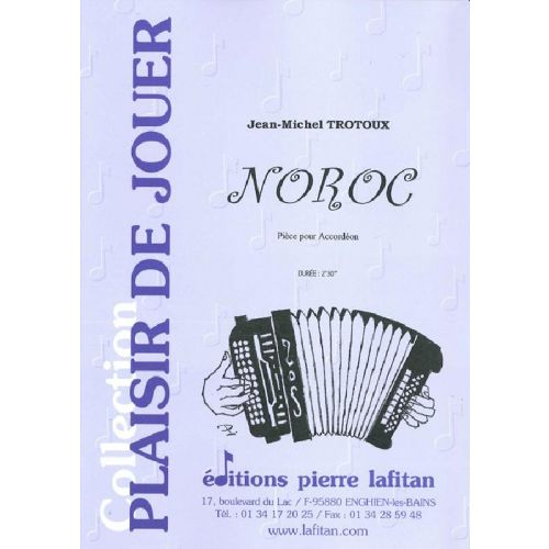 LAFITAN TROTOUX JEAN-MICHEL - NOROC - ACCORDEON
