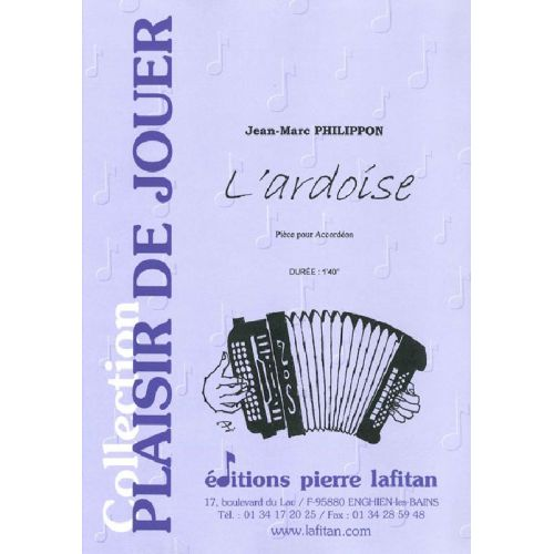 LAFITAN PHILIPPON JEAN-MARC - L'ARDOISE - ACCORDEON