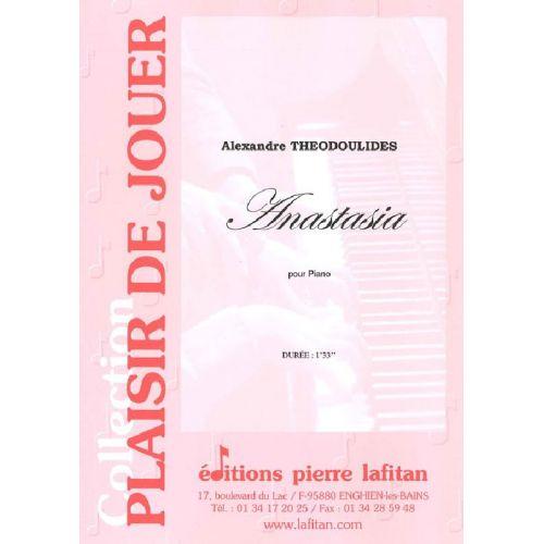 LAFITAN THEODOULIDES ALEXANDRE - ANASTASIA - PIANO