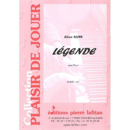 LAFITAN SANS ALINE - LEGENDE - PIANO