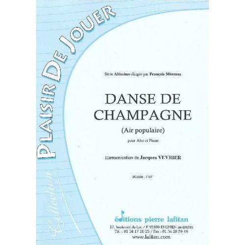 LAFITAN VEYRIER J. - DANSE DE CHAMPAGNE - ALTO ET PIANO