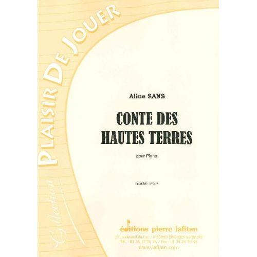 LAFITAN SANS ALINE - CONTE DES HAUTES TERRES - PIANO