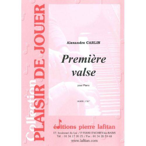 LAFITAN CARLIN ALEXANDRE - PREMIERE VALSE - PIANO