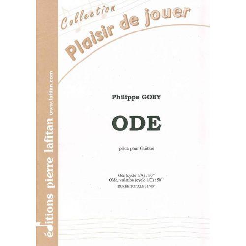 LAFITAN GOBY PHILIPPE - ODE - GUITARE