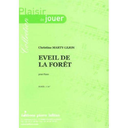 LAFITAN MARTY-LEJON CHRISTINE - EVEIL DE LA FORET - PIANO