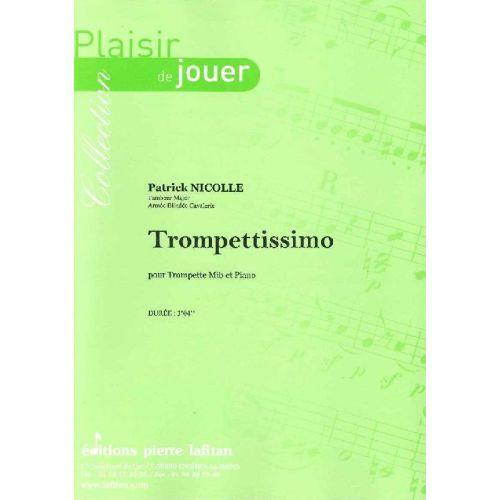 LAFITAN NICOLLE PATRICK - TROMPETTISSIMO - TROMPETTE MIB ET PIANO