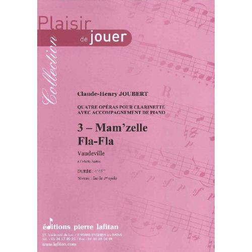 LAFITAN JOUBERT C.H. - MAM'ZELLE FLA FLA - CLARINETTE ET PIANO