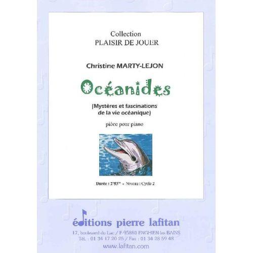LAFITAN MARTY-LEJON CHRISTINE - OCEANIDES - PIANO