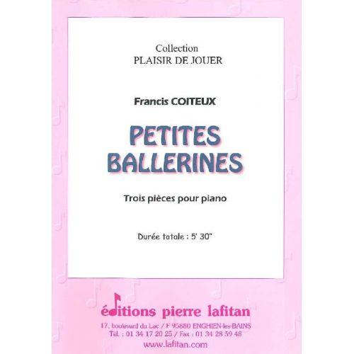 LAFITAN COITEUX FRANCIS - PETITES BALLERINES - PIANO