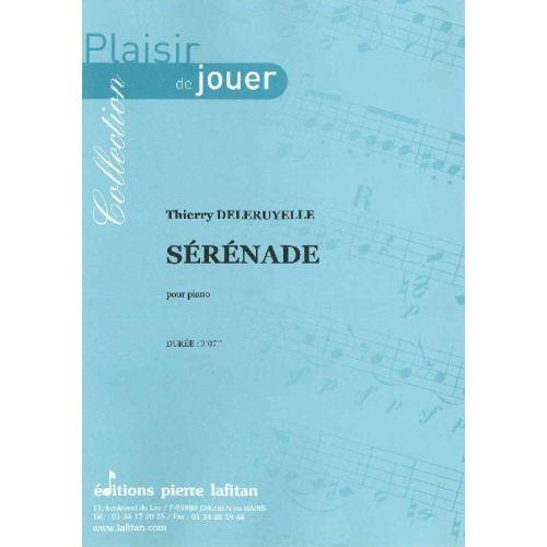 LAFITAN DELERUYELLE THIERRY - SERENADE - PIANO