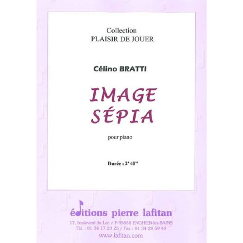 LAFITAN BRATTI CELINO - IMAGE SEPIA - PIANO
