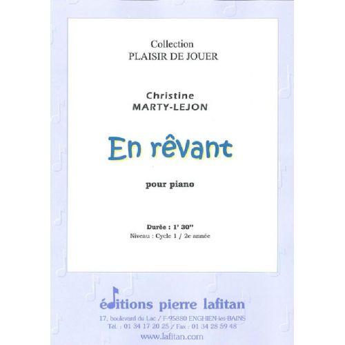 LAFITAN MARTY-LEJON CHRISTINE - EN REVANT - PIANO
