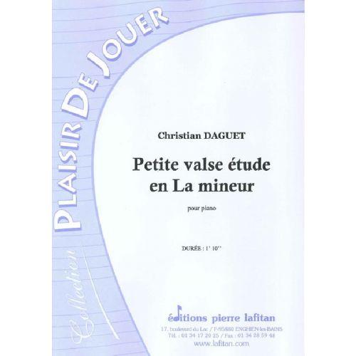 LAFITAN DAGUET CHRISTIAN - PETITE VALSE ETUDE EN LA MINEUR - PIANO