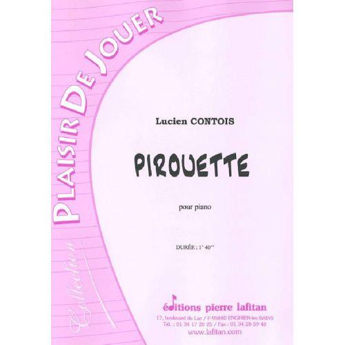 LAFITAN CONTOIS LUCIEN - PIROUETTE - PIANO
