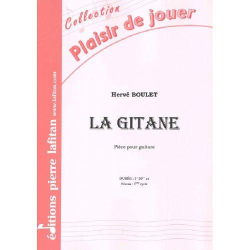 LAFITAN BOULET HERVE - LA GITANE - GUITARE