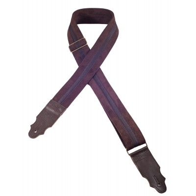 RIGHTON GUITAR STRAP PLAIN BROWN
