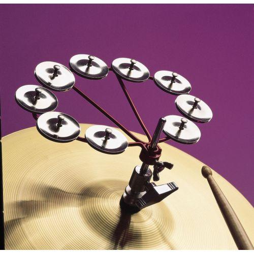 LP LATIN PERCUSSION LP191 - TAMBOURINE JINGLE RINGS
