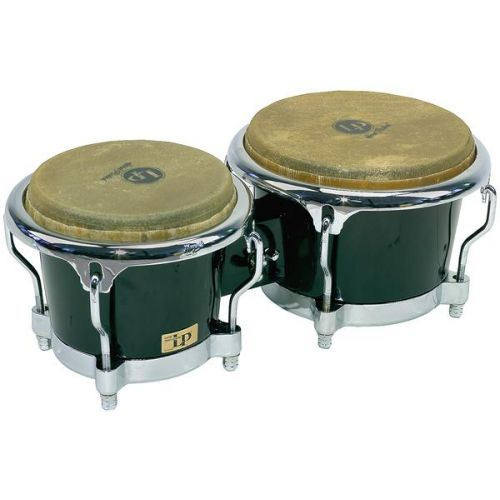 LP LATIN PERCUSSION LP200XF-BK - BONGOS FIBRE DE VERRE - BLACK