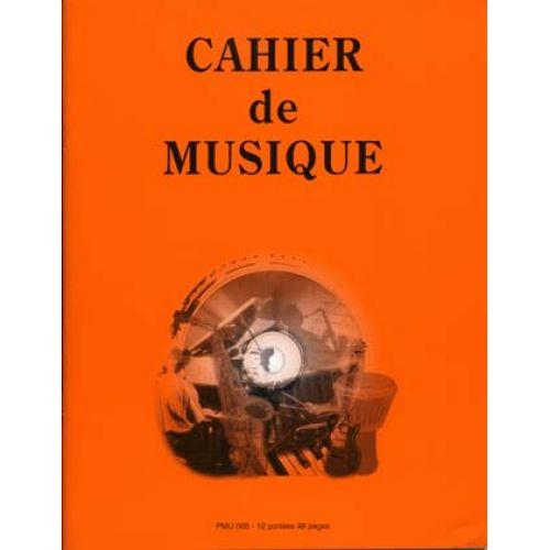 ID MUSIC CAHIER 12 PORTEES