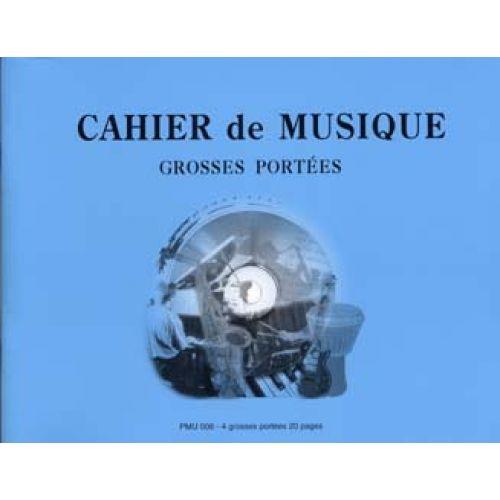 ID MUSIC CAHIER 4 GROSSES PORTEES
