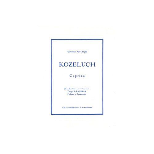 COMBRE KOZELUCH LEOPOLD - CAPRICE - PIANO
